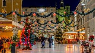 marché de noël Split - croatie europe terra balka