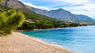 Plage de Punta Rata croatie
