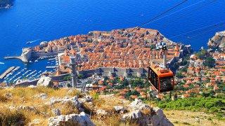 Telepherique a dubrovnik - vacances sur mesure croatie europe