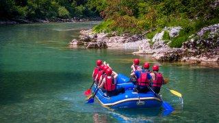 rafting riviere tara - vacances famille montenegro terra balka