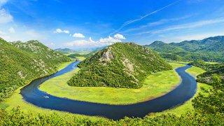 Lac de skadar - vacances famille montenegro