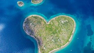 fun fact croatie atypique Galesnjak island île coeur - Terra Balka voyages Croatie