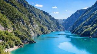 Canyon de la piva - vacances famille montenegro