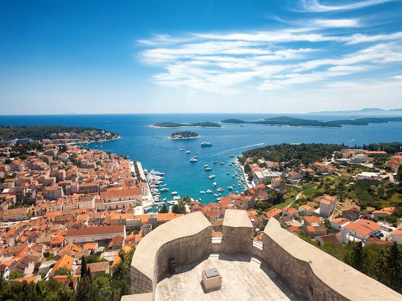 L'île de Hvar site unesco - Vacances en croatie europe