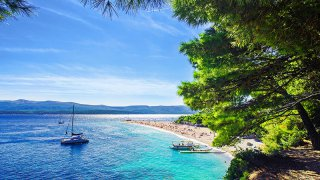 Ile de brac zlatni rat - vacances sur mesure Croatie Europe