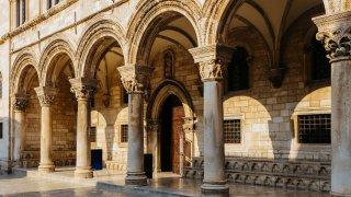 Le Palais du Recteur à Dubrovnik croatie