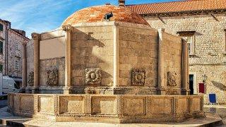 Vue de Dubrovnik en Croatie - site unesco