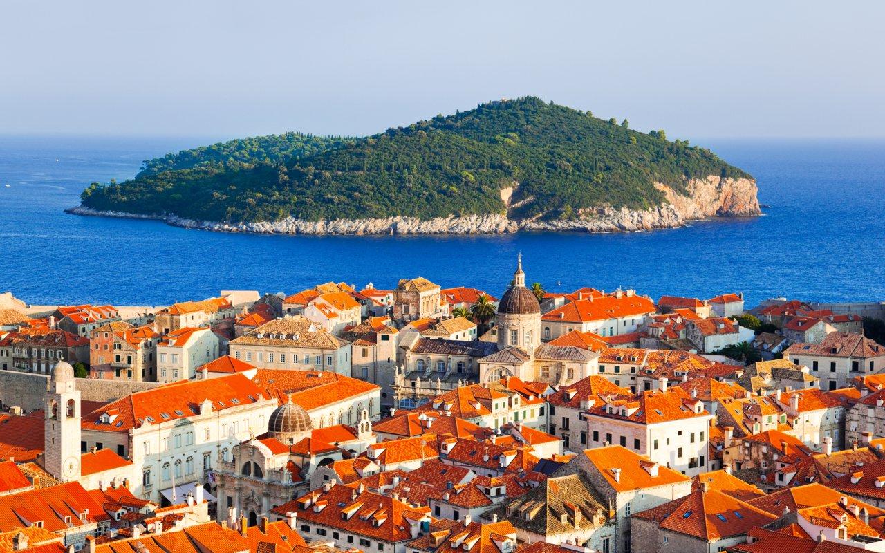vacances sur mesure en Croatie - Ile de Lokrum