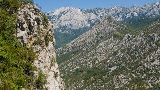 croatie Parc national de Paklenica