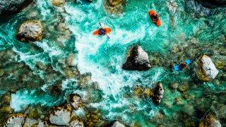 kayak riviere soca - vacances sur mesure slovenie