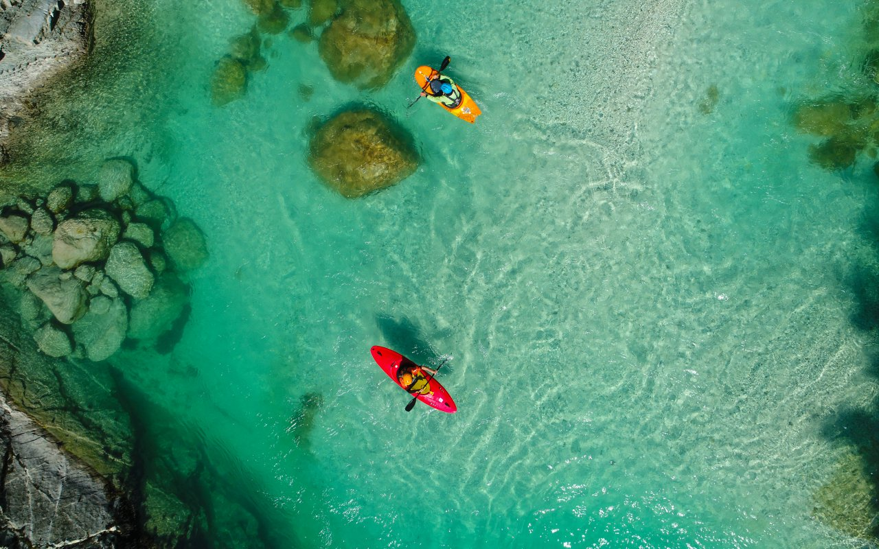 Rafting riviere soca - Circuits sur mesure Slovénie Europe
