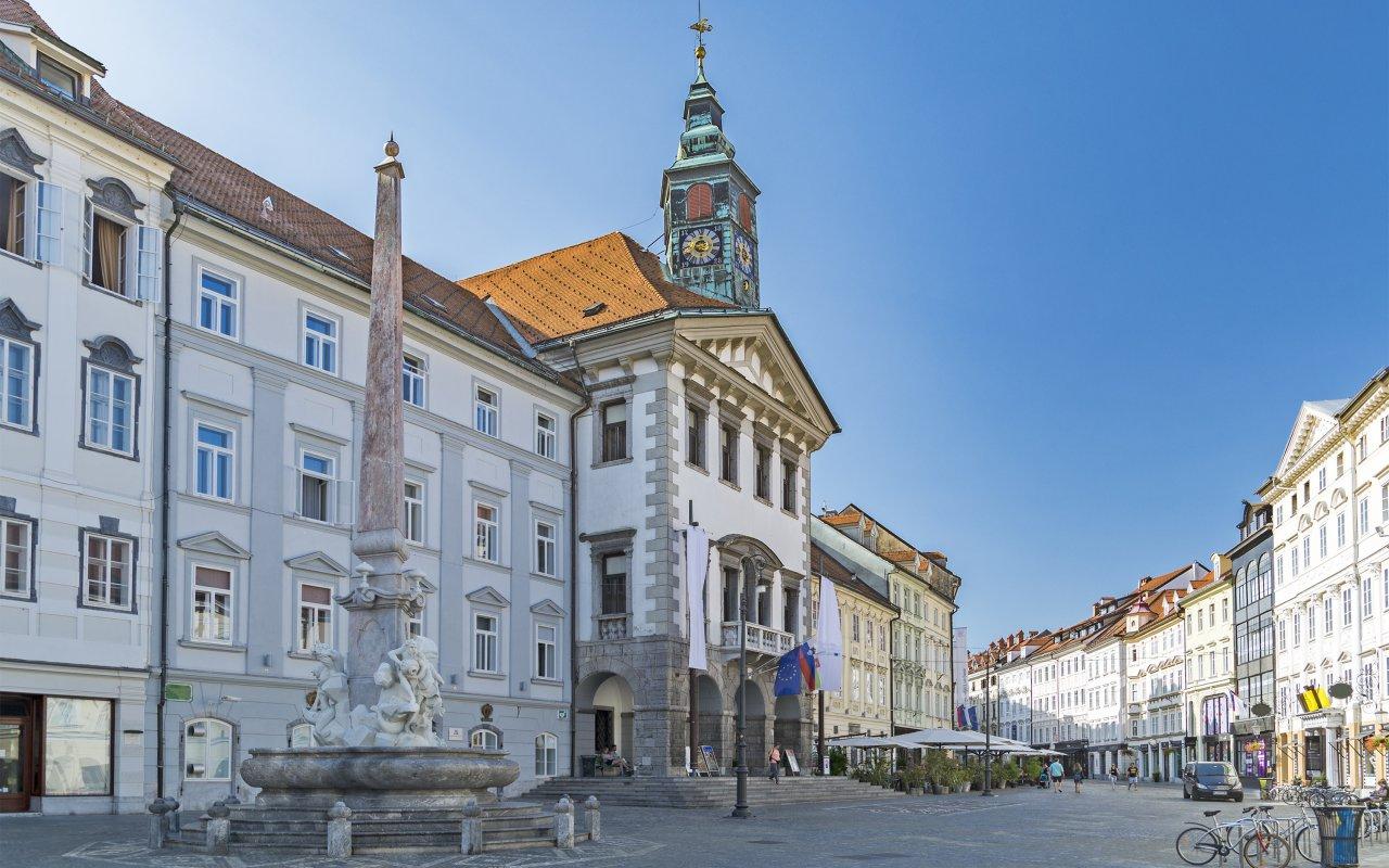 Centre de Ljubljana slovénie europe