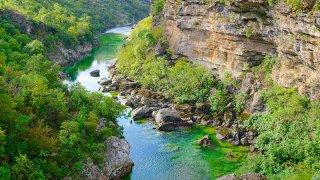 Canyon de la Moraca - circuits insolites Monténégro