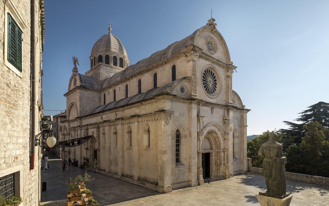 La cathédrale Saint-Jacques de Sibenik - Circuits sur mesure Croatie