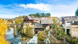 Rastoke village plitvice - Circuits sur-mesure en Croatie europe