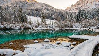 lac de zelenci slovenie