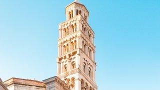 La cathédrale Saint-Domnius à Split en Croatie