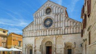 Cathédrale Zadar site unesco en Croatie