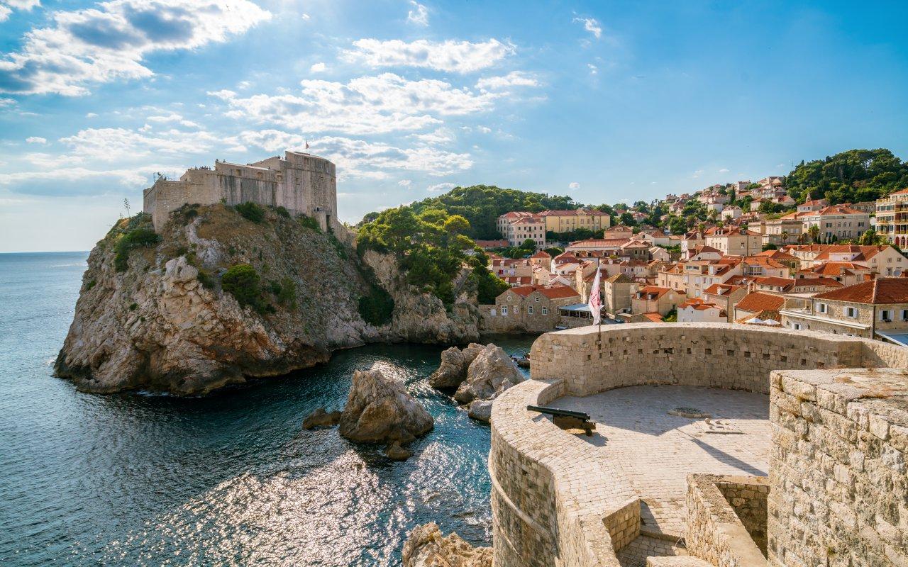Fort Lovrijenac à Dubrovnik - Circuits sur mesure Croatie - la croatie de game of thrones