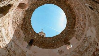 Le vestibule du Palais de Dioclétien de Split
