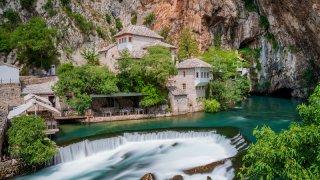 Blagaj - circuits culturels et historiques Bosnie