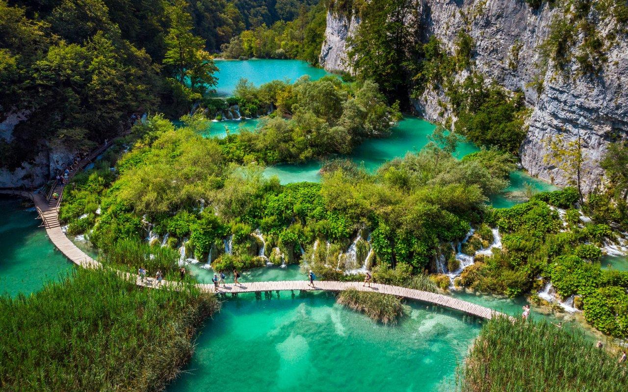 lacs de plitvice - parcs nationaux croatie - circuits personnalisés Croatie Europe
