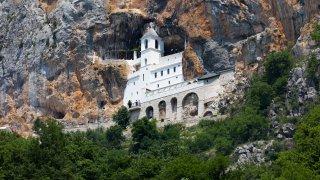 Monastère d'Ostrog au Montenegro
