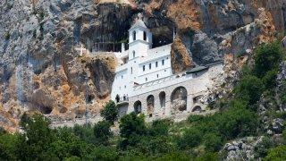 Monastere ostrog - vacances famille montenegro terra balka