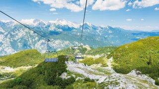 Vogel lac de bohinj - Circuits randonnée sur mesure Slovénie Europe