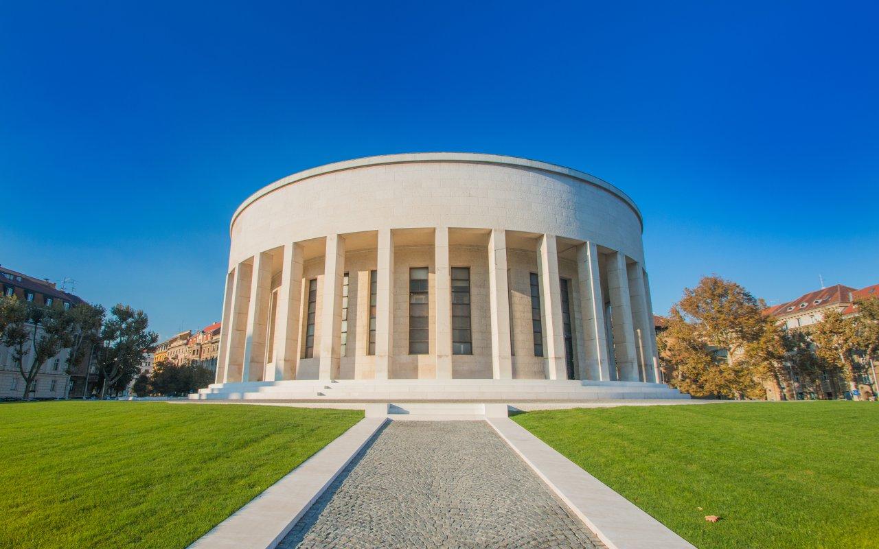 pavillon mestrovic à Zagreb capitale de la croatie