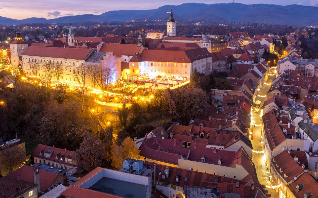 marché de noël zagreb - croatie europe terra balka