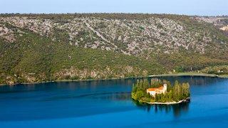 Croatie parc krka visovac