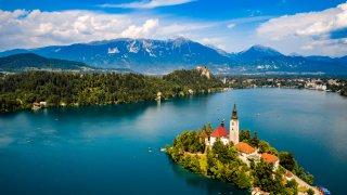 Lac de Bled - Circuits sur mesure Slovénie Europe