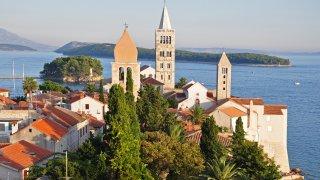Adriatique croatie ile de rab