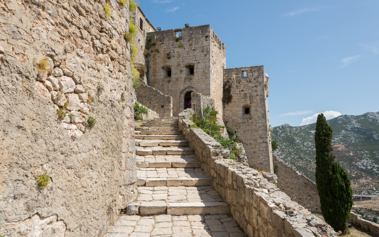 La Forteresse de Klis- Circuits sur mesure Croatie