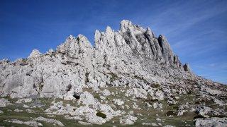 croatie Parc national du Velebit du Nord