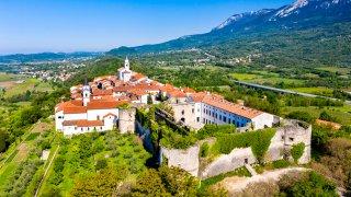 Ville de Kriz Slovénie en Europe