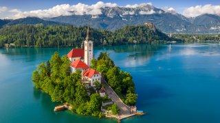 L'un des plus beaux lacs à photographier est à Bled !