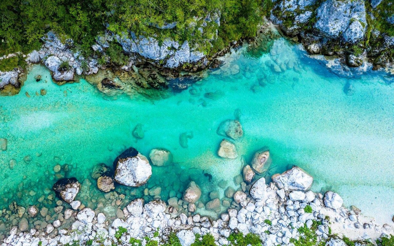 Rivière Soca en Slovénie - Circuits sur mesure Slovénie Europe