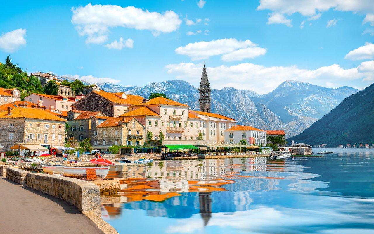 Ville Perast Bouches de Kotor Montenegro voyage top