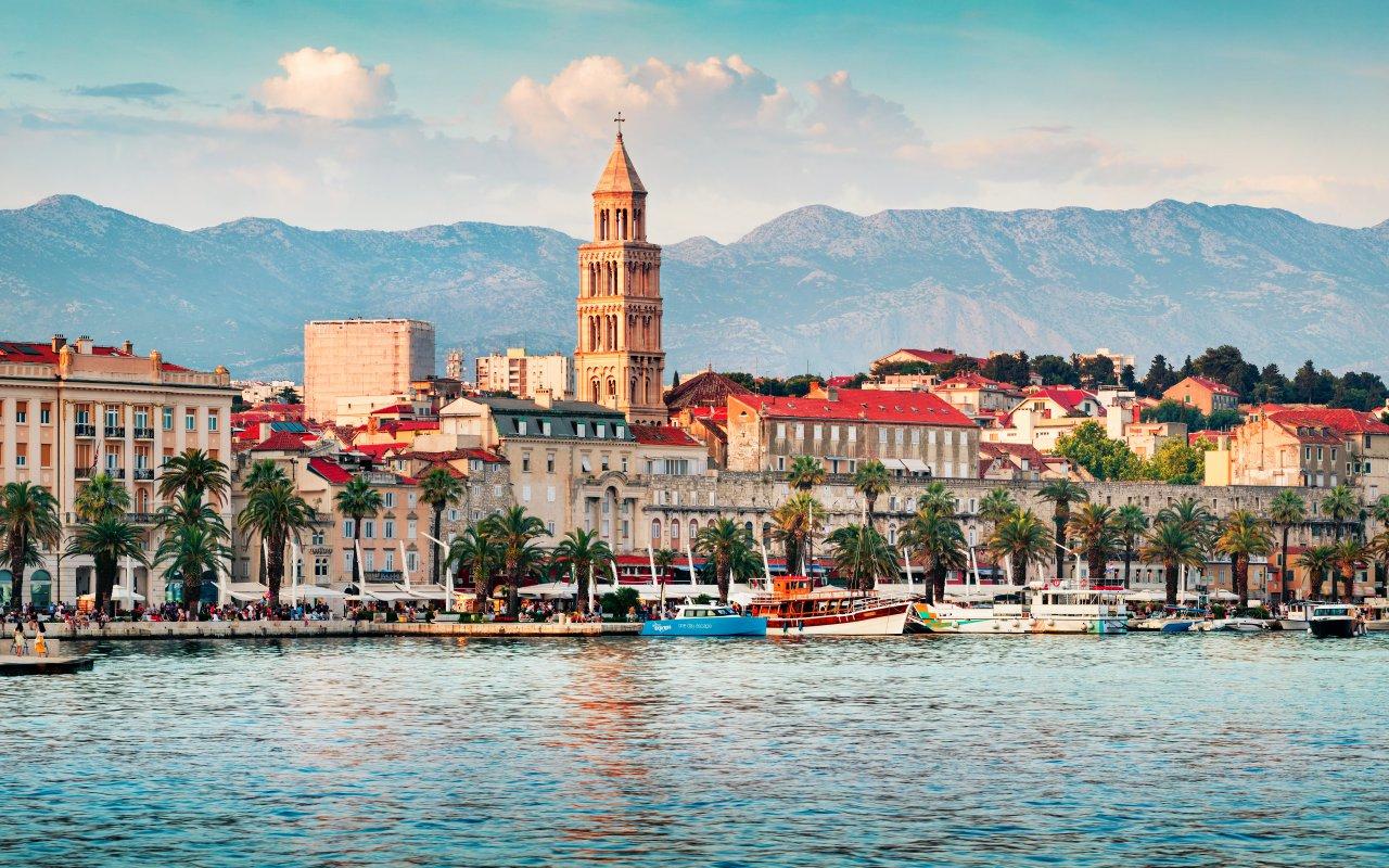 Le Palais du Dioclétien à Split en Croatie - week end à split