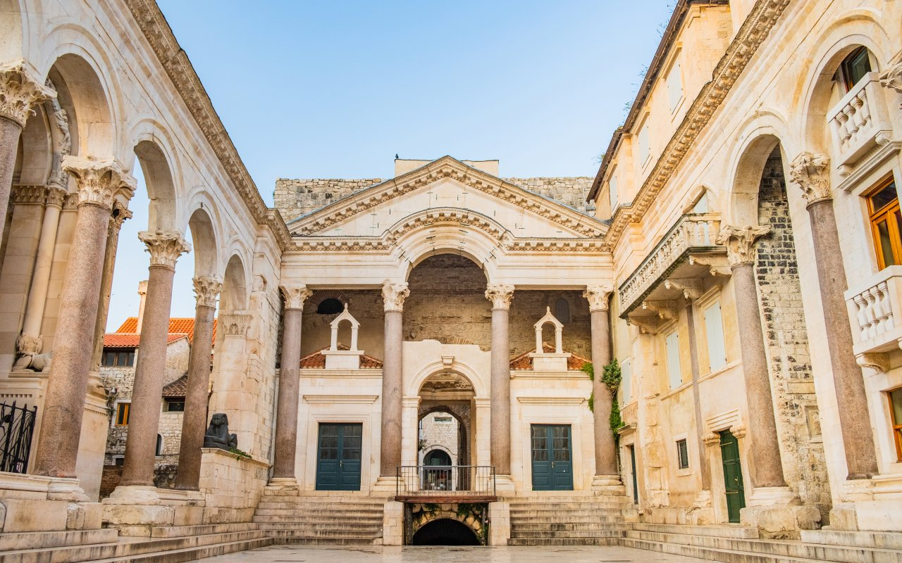 palais du dioclétien à split croatie site unesco