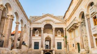 Le palais de Dioclétien à Split - Circuits sur mesure Croatie