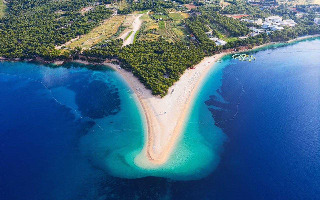 Ile de brac zlatni rat - Vacances en croatie europe
