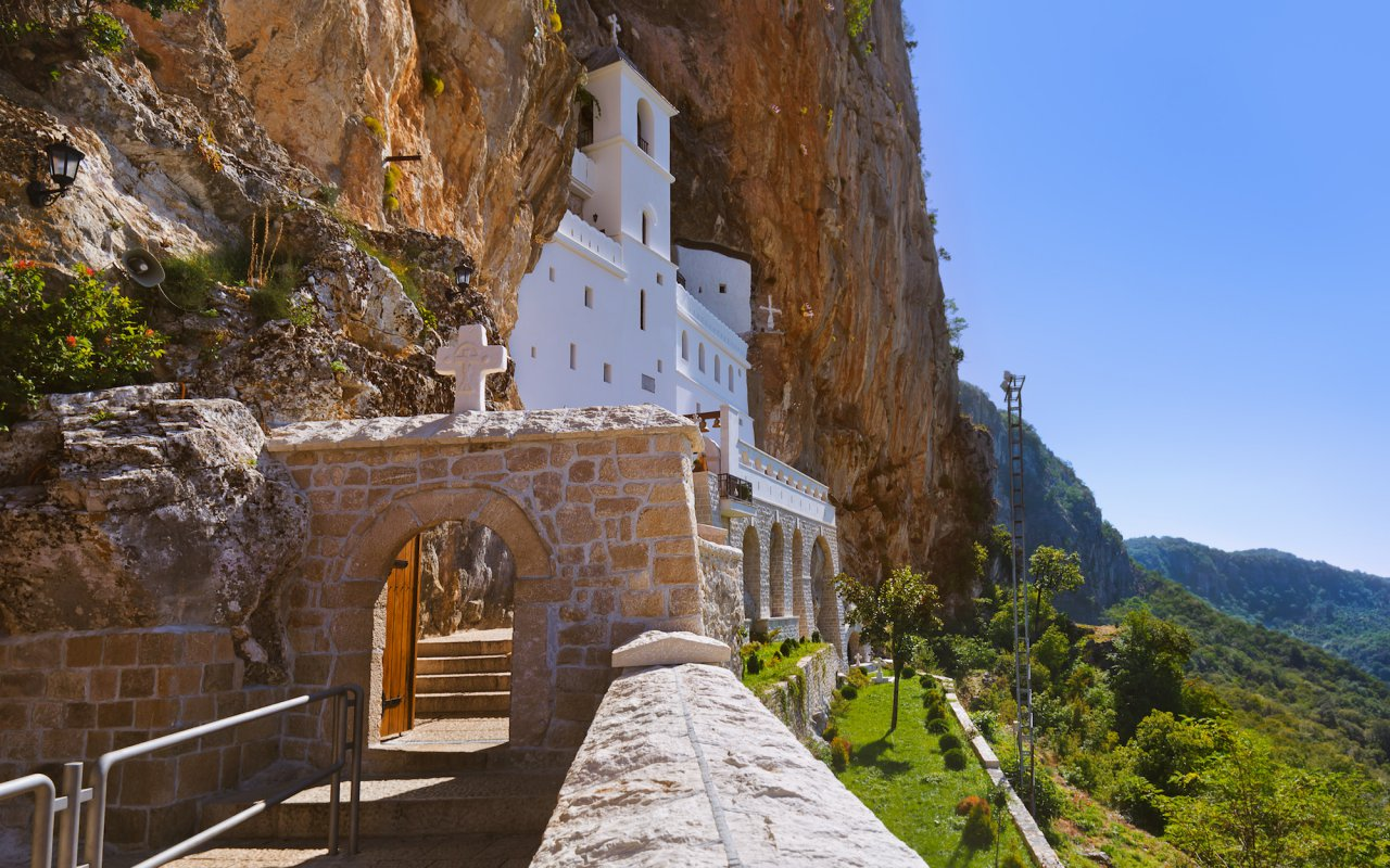 Ostrog monastery Montenegro voyage europe top