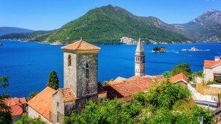 Perast dans la baie de Kotor - Vacances en voiler dans l'Adriatique - Circuits sur mesure Monténégro Europe