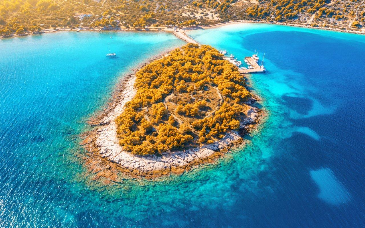 île de Murter - Vacances en croatie europe
