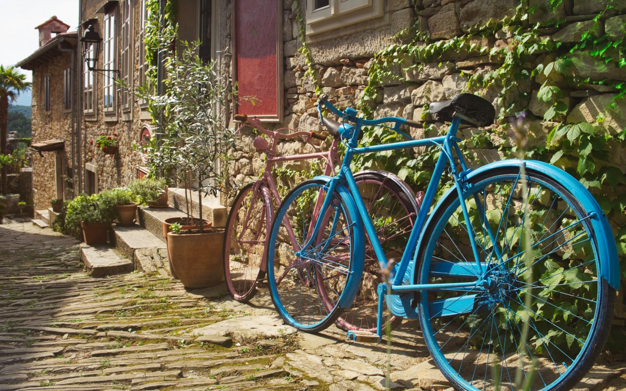 Voyage à vélo en Istrie Croatie