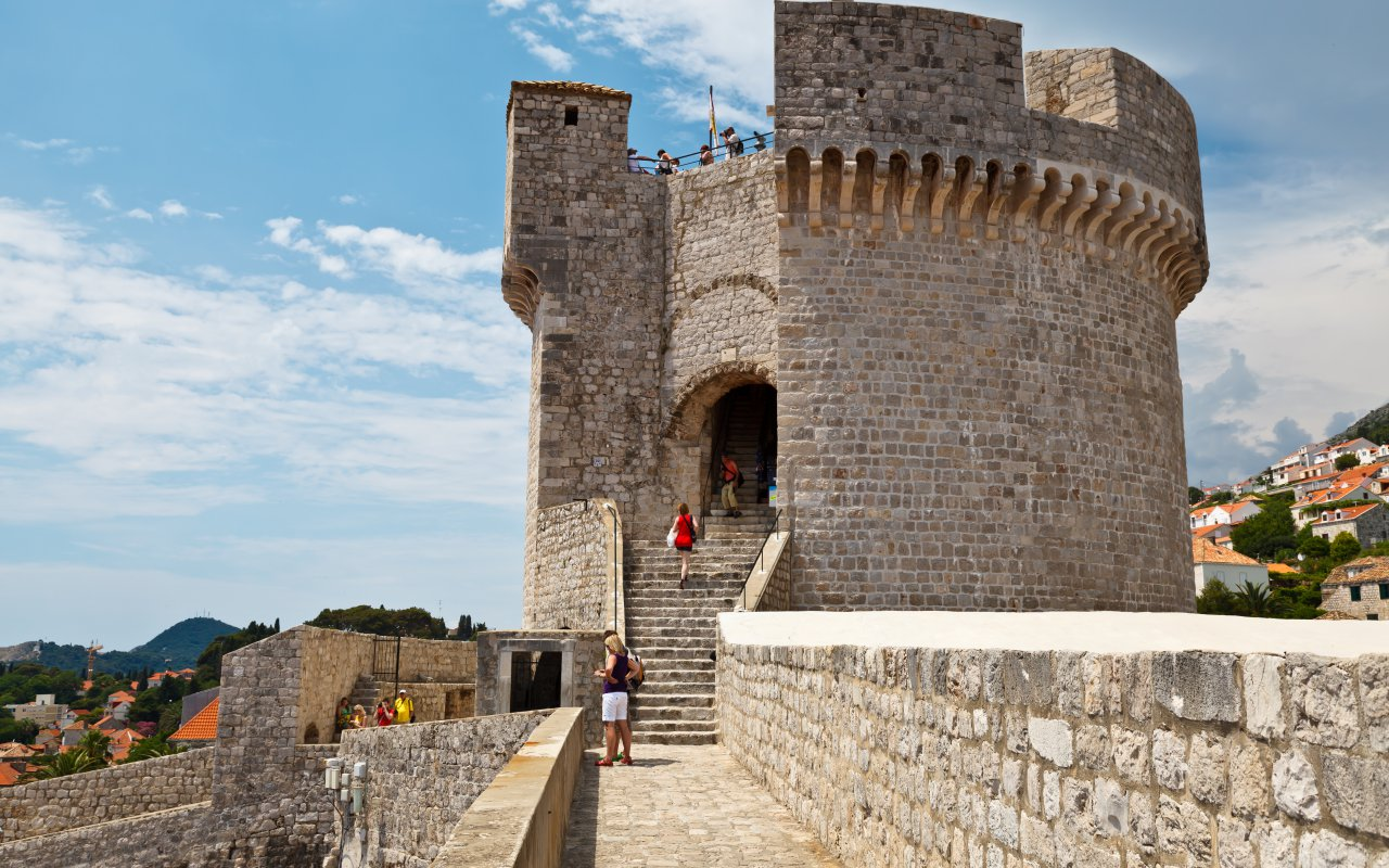 La tour Minceta de Dubrovnik - Circuits sur mesure Croatie