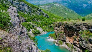 Canyon de la moraca - vacances famille montenegro
